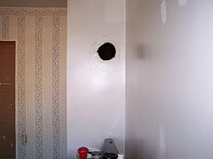 Repairing Large Holes in the Wall