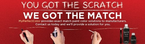 Touchup Paint for Manufacturers