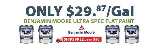 Benjamin Moore Paint For Under 30 Gallon