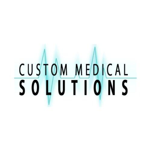 Custom medical solutions logo