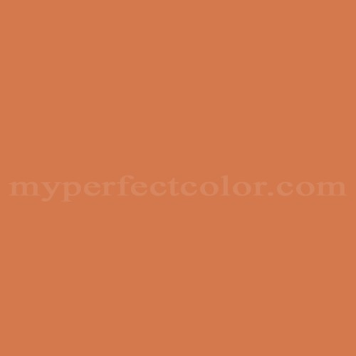 Porter Paints 11105 6 Spanish Orange Match Paint Colors