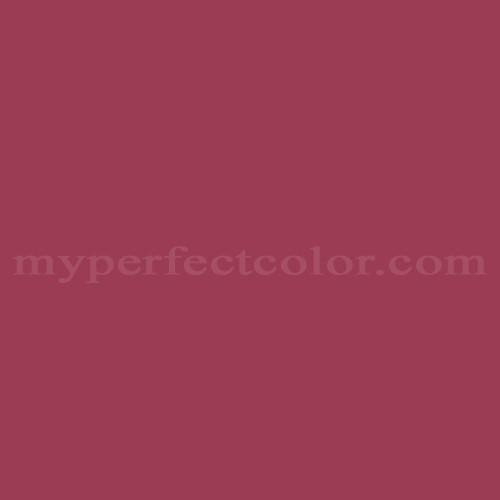 Match Of Rodda Paint 1850 Bright Cranberry