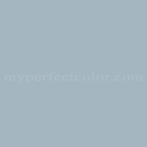 Match Of Behr Th 54 Pewter Blue