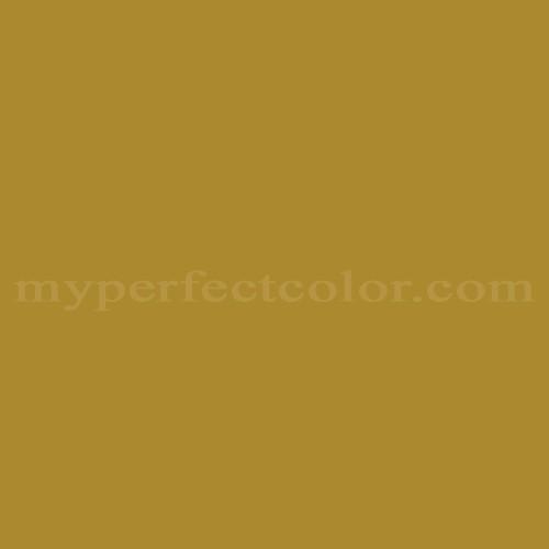 Pratt and Lambert 126G Mustard Green Paint Color Match ...