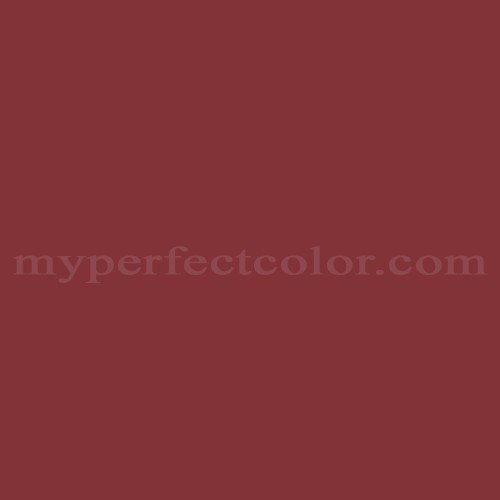Behr M140 7 Dark Crimson Precisely Matched For Paint And Spray Paint