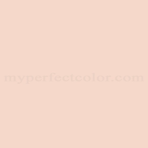 Behr M190 1 Pink Sea Salt Precisely Matched For Paint And Spray Paint