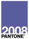 Pantone 18-3943 TPX Blue Iris 2008 Color of the Year