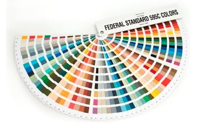US Government Federal Standard 595 fandeck
